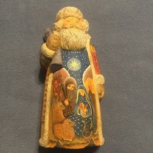 G.DeBrekht 2nd Edition Nativity Series Santa